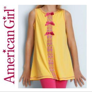 2/$20 🛍️ American Girl Flower Power Pajama Top